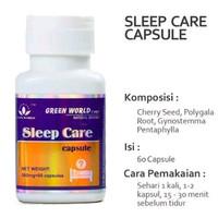 Jual Sleep Care Capsule Green World Diskon