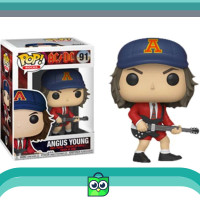 Promo Funko POP Rocks ACDC - Angus Young with Red Jacket