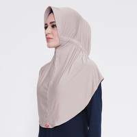 ABIA - Zoya Kerudung Instan - Bergo Husna Casual with HEIQ Smart Temp