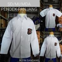 Kelas Seragam baju SD 1 2 3 4 5 6 Panjang putih Sekolah