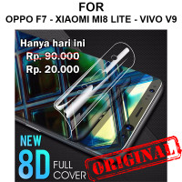 Oppo F7 Xiaomi Mi8 Lite Vivo V9 anti gores not tempered glass HYDROGEL
