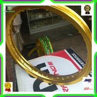 Jual Velg TDR W shape ukuran 185 / 250 ring 18 gold Limited