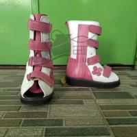Jual sepatu koreksi ortopedi tinggi boot Limited