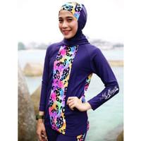 Baju Renang Wanita Muslimah Hijab Assila Original 02 Berkualitas