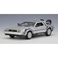 Cool Car Model Toys 1 24 Scale Diecast Welly Back To The Future Par 9u