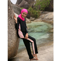 Promo Baju Renang Wanita Muslimah Hijab Assila Original 01 Diskon