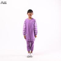 Premium Baju Baju Lilac Baju Anak TERRY Set Anak ONE Perempuan BEBY An