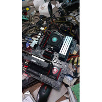 MSI 970 Gaming Motherboard Soket AM3 Plus Support FX 8370 8350 not