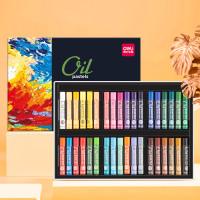 Warna Profesional End High 72130 Deli 72133 Pastel Crayon Oil Krayon 1