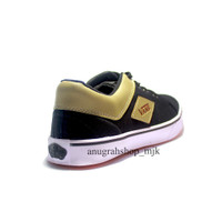 Vans Hitam Gold KEts Sepatu