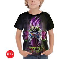 Baju Kamen Rider Ex-Aid Anak Kaos Anime Jepang #677