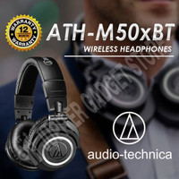 Audio Technica ATH-M50XBT I M50X BT Wireless Over-Ear Headphones - O