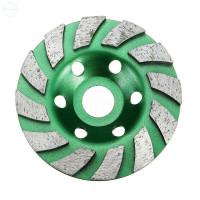 Roda Gerinda Ukuran 100mm Tahan Aus Untuk Granit Beton