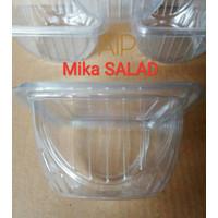 Mangkok Buah Salad Es Cup 50pcs Mika