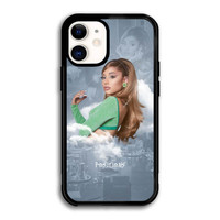 Casing iPhone 12 Mini Ariana Grande Positions Poster Paper P2691