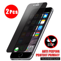 2Pcs Privacy Anti-Peeping Tempered Glass for Asus Zenfone Max Pro M1 M