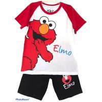 Setelan Anak Laki Laki Elmo Kimono Putih 1-10 Tahun