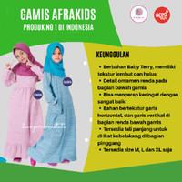 Dress Muslim Anak Baju Muslim Gamis Anak Anak Anak Gaun AFRAKIDS