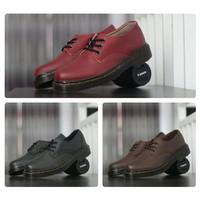 Coklat Kerja Dokmart Dr.Martens Pria Sepatu Docmart Hitam Boots Low Ma