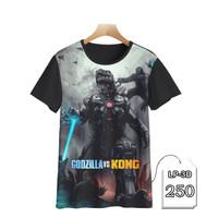 Baju Anak Godzilla vs KONG Kaos Kartun TV Series #LP3D-250
