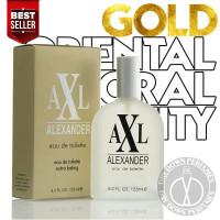 TOILETTE DE ALEXANDER AXL PARFUM EAU 125ML GOLD