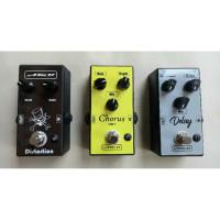 Efek Gitar Stombox Murah - Paket 3 Efek Plus Adaptor