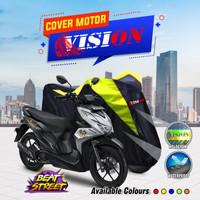 BODY COVER MANTEL SELIMUT SARUNG TUTUP MOTOR HONDA SUPRA X FIT X 125 - stabilo