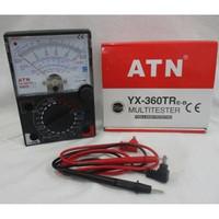 multitester mutitester ATN manual YX 360TR besar avometer