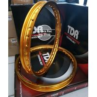VELG TDR W SHAPE 1 SET 140160 RING 17 WARNA GOLD A1