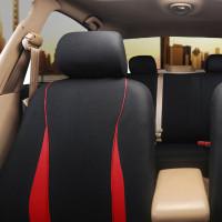 billpalmer 9pcs / Set Sarung Jok Interior Mobil Universal Warna Merah