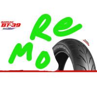 Ban Bridgestone Battlax 11080-14 BT39 Racing Tubeless Motor matic