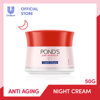 PONDS AGE MIRACLE ANTIAGING NIGHT CREAM YOUTHFUL GLOW MOISTURIZER 50G