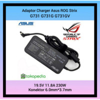 Asus G731G Strix 6.0mm G731GV Adaptor Charger x 3.7mm DC 11.8A G731 Ro