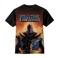 Baju Kaos Anak Thanos Marvel Center Logo - Kazzamy Store