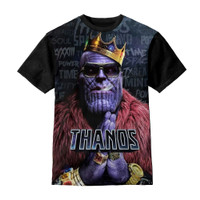 Baju Kaos Anak Thanos Marvel King - Kazzamy Store
