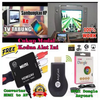 HEMAT DONGLE ANYCAST ANYCASH HDMI DISPLAY RECIEVER TV EZCAST - PA