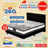 Comforta Set Kasur Spring Bed Super Star / Neo Star 140 x 200