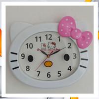 Promo jam dinding hello Kitty besar 30cm Berkualitas