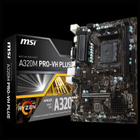 Limited MSI A320M PRO-VH PLUS - AM4 - AMD Promontory A320 - DDR4 -