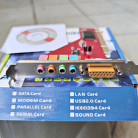 PCI SOUND CARD WITH CD DRIVER DK1
