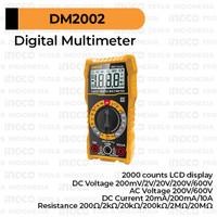 Digital Multimeter INGCO DM2002 Multitester Multi Tester Avometer LCD