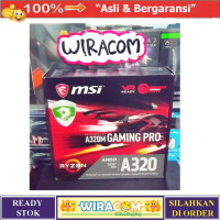 Limited MSI A320M GAMING PRO AMD A320 AM4 DDR4 USB3.1 Motherboard