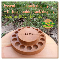 air humidifier aroma therapy difusser holder rak essential oil rack