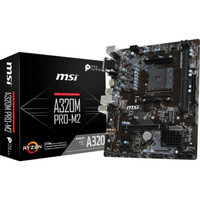 MSI A320M PRO-M2 AMD A320 AM4 DDR4 Micro ATX Motherboard