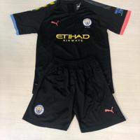 Jersey Baju Bola Anak Kids Manchester City Away 20192020 Grade Ori