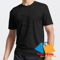 T-Shirt Distro TK THIS Coffee and Camera Drawing Photographer C