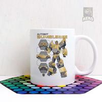 Mug Keramik Transformers Autobot Bumblebee Transformation C