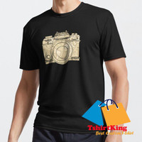 T-Shirt Distro TK Travelling Photographer Camera Doodle With