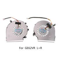1 Pasang Kipas Pendingin 4pin Untuk Msi Ge62Vr Gp62Mvr Gl62M Laptop