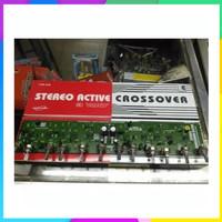 Promo Kit crossover aktif 3 way stereo Berkualitas
